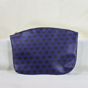 Ipsy faux leather makeup bag